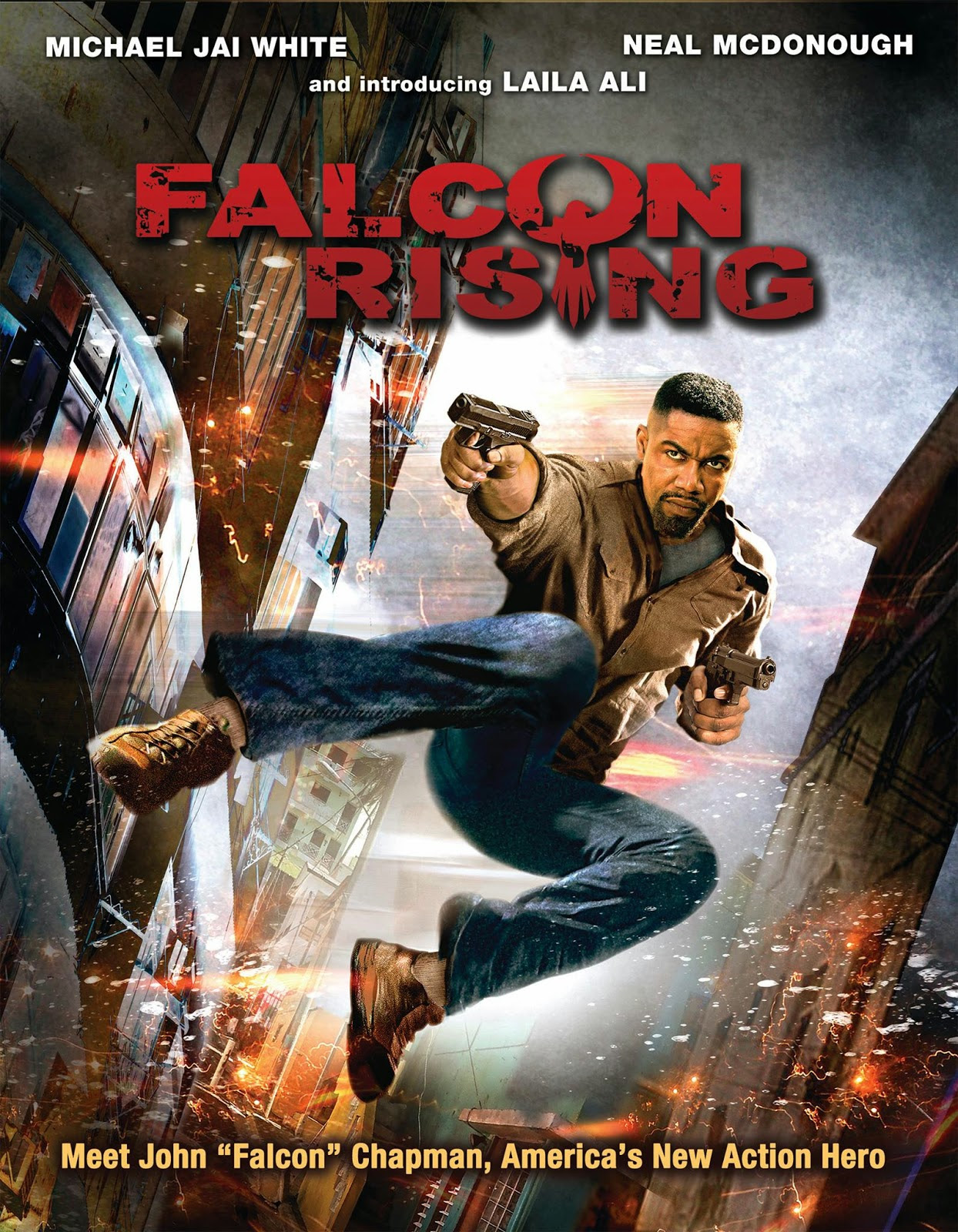 Falcon Rising (2014) English Full Movie Download WEB-DL