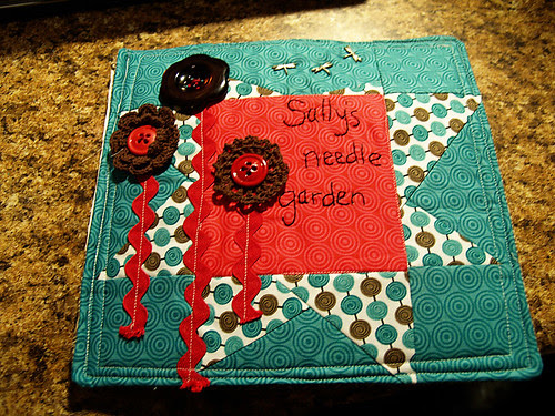 Sally's Needle Garden - Project Quilting