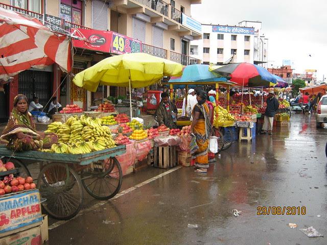 Fruit Stalls at Dange Chowk, Aditya Birla Hospital Hinjewadi Road, PCMC, Pune