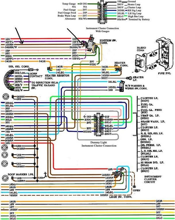 72 Camaro Wiring Diagram For Heater Wiring Diagram Networks