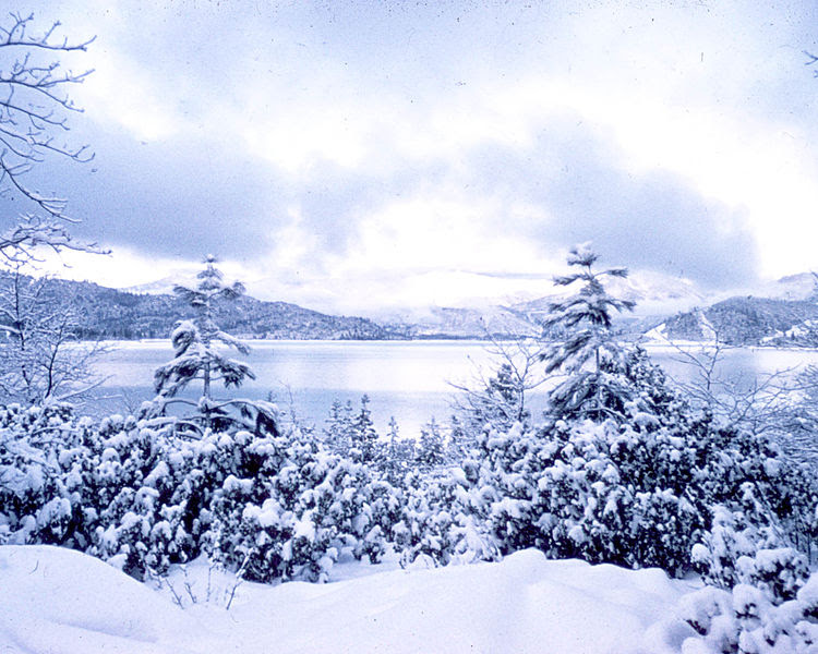 File:Snow at the Lake.jpg