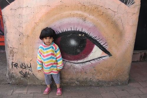 Nerjis Asif Shakir 2 Year Old Street Photographer And The Third Eye Of Cosmic Clarity by firoze shakir photographerno1