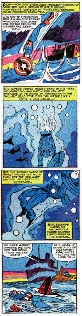 Tales of Suspense #75 panels