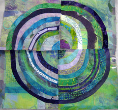 recycled circles: student work