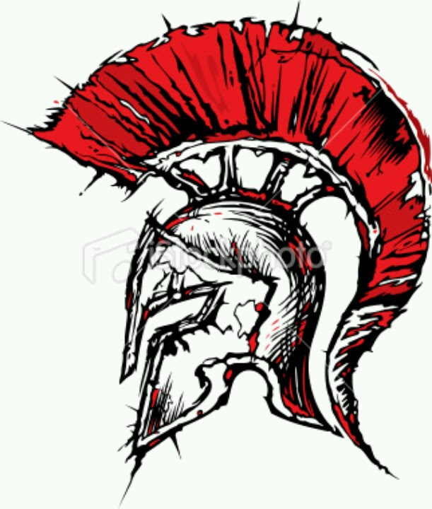 Spartan Helmet Drawing At Getdrawingscom Free For Personal Use