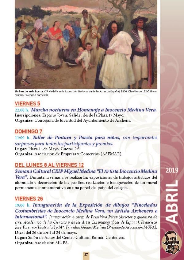 Ayuntamiento De Archena Taller De Pintura Y Poesia Para Ninos