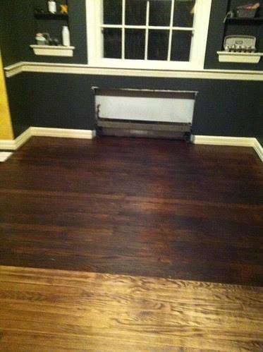 floor during