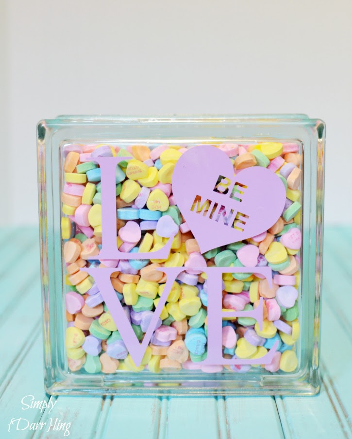 Valentine's Day Conversation Heart LOVE decor