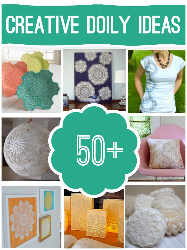 Doily Craft Projects — Saved By Love Creations