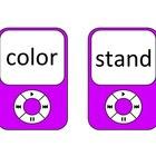 4th Grade Frys 4th 100 Sight Words --Ipod Theme