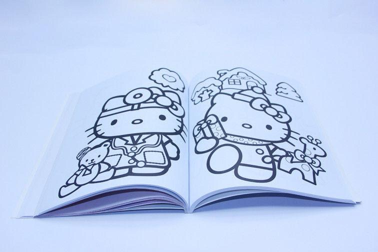Seni Kertas A4 Mewarnai Pelayanan Pencetakan Buku Komik Cerita