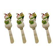 Certified International Snowman Set of 4 Spreaders at Sears.com
