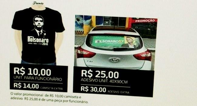 21d73348d64ea Política desmistificada  28 empresas são apontadas pelo Ministério Público  por coação pró-Bolsonaro