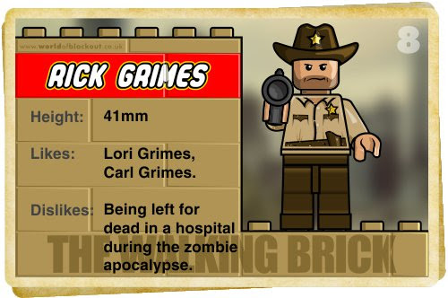 Slightly Inappropriate Lego #8 : Rick Grimes