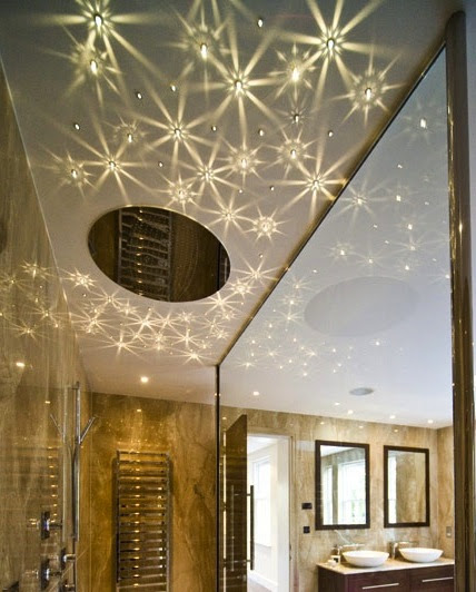 Star studded kids rooms vines 2 star light ceiling in bathroom mozeypictures Choice Image