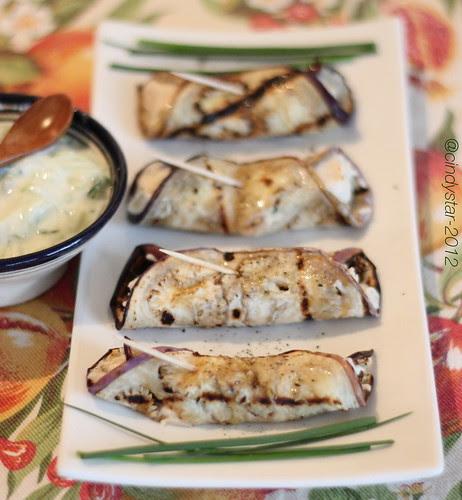 involtini melanzane-aubergine rolls