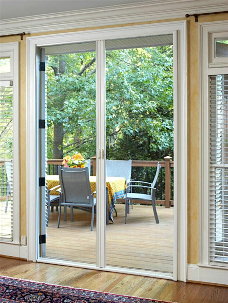 Retractable Door Fly screens for French Doors 1800mmW x ...
