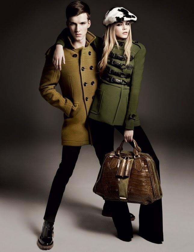 Burberry Autumn Winter 2011 Ad Campaign2