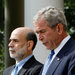 Ben S. Bernanke with President George W. Bush during the 2008 financial crisis.