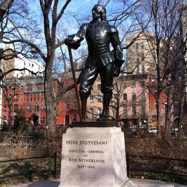 Stuyvesant Square: Statue of Peter Stuyvesant