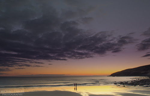Stoer Bay Sunset by Michael~Ashley