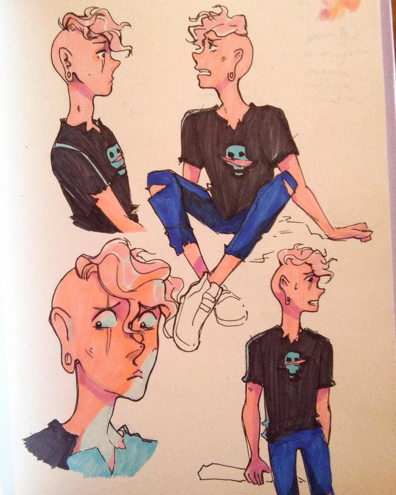 A bunch of Lars from my sketchbook !