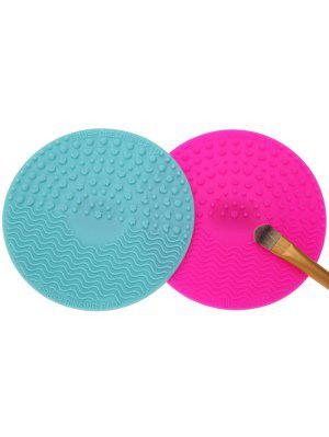 Makeup Brush Cleaning Pads - Multicolor