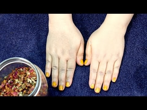 How To Get Extra Fair & Beautiful Hands - Skin Whitening Home Remedies