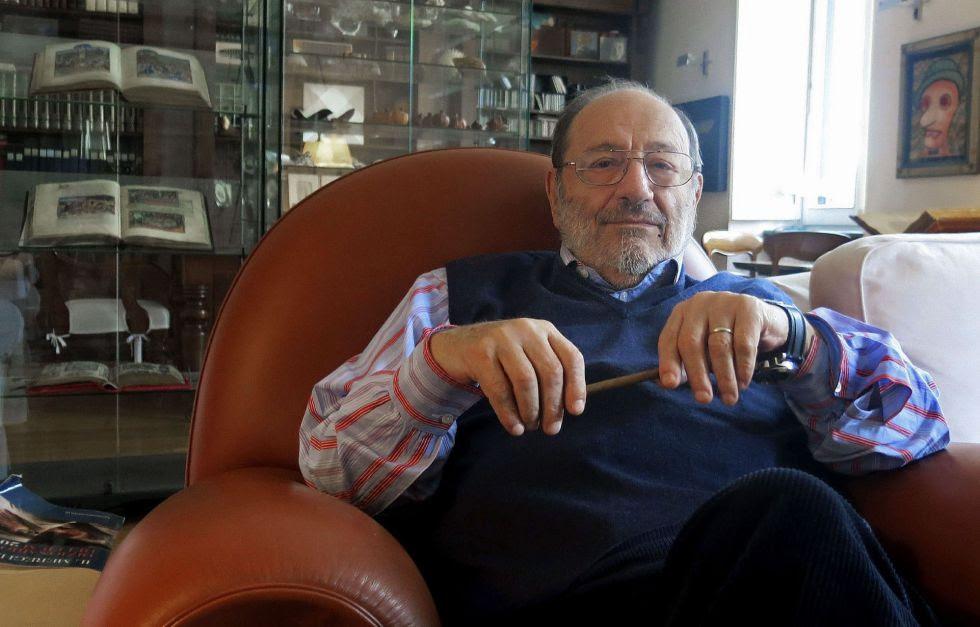 El escritor y filósofo italiano Umberto Eco.