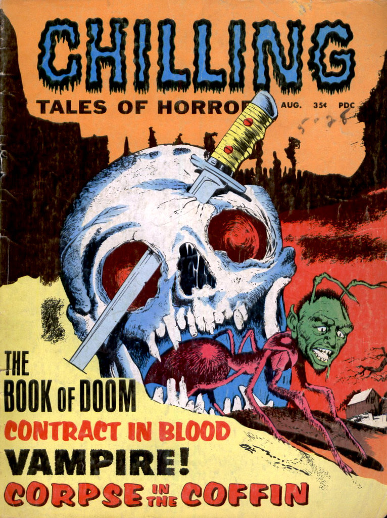 Chilling Tales Of Horror - August (Stanley Publications)