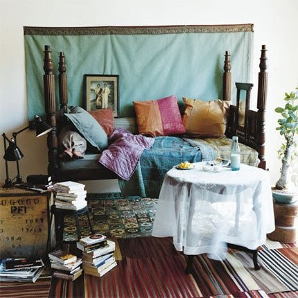 Bohemian, Boho, Indie Eclectic Interior Design Spaces - Bedroom | Live Love in the Home