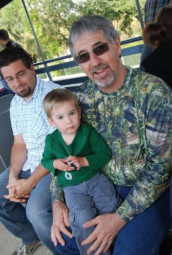 with Grandpa Rich