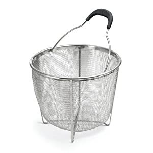 Amazon.com: Polder Strainer/Steamer Basket, Stainless Steel
