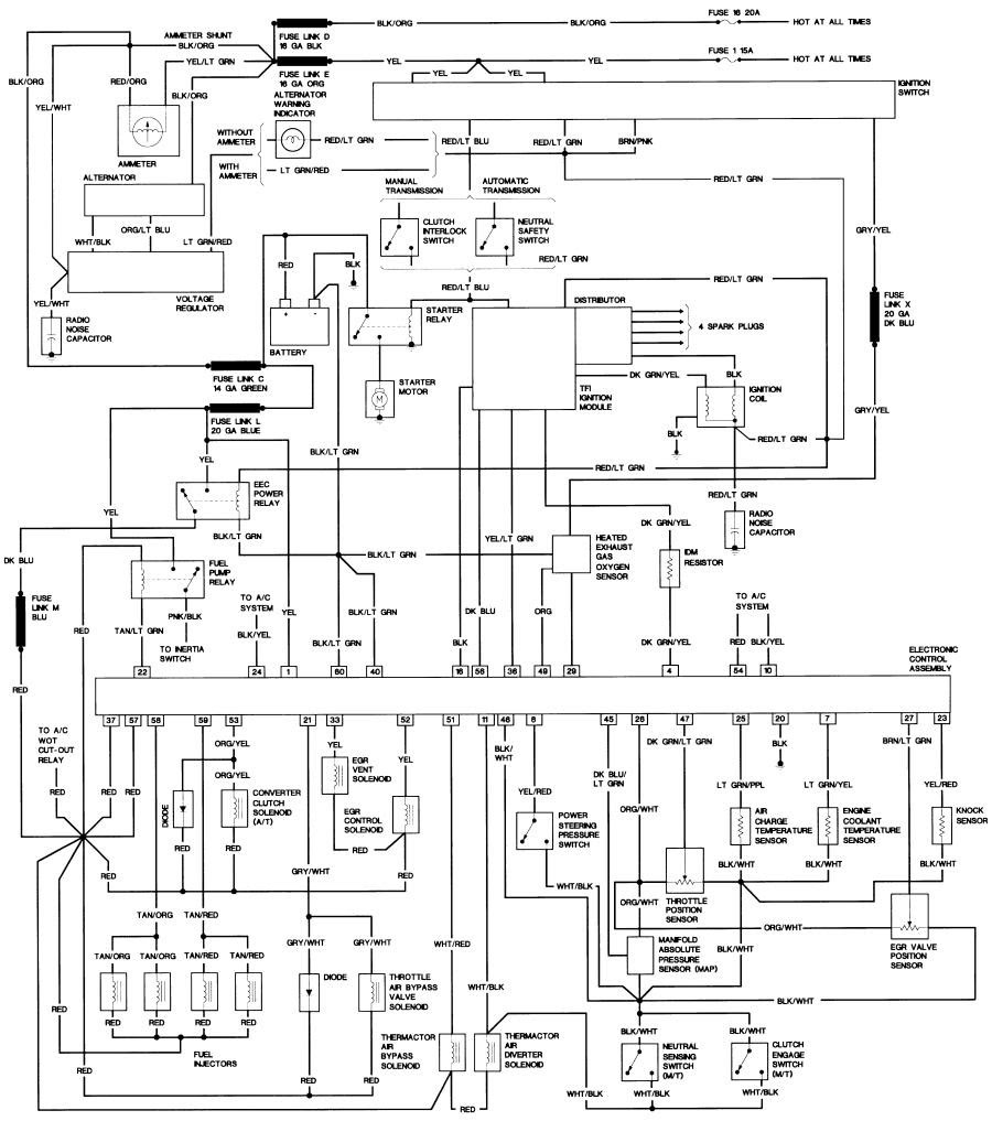 Radio Wiring Diagram 1989 Ford Bronco Ii Wiring Diagrams Collection Collection Chatteriedelavalleedufelin Fr