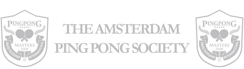 The Amsterdam Ping Pong Society