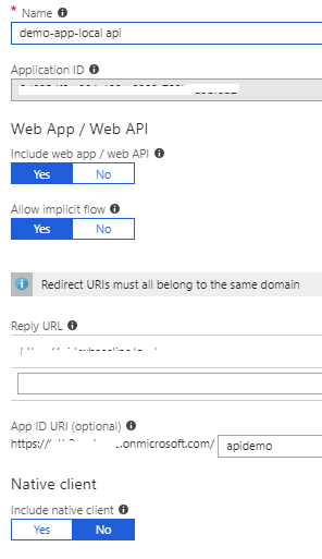 Scope claim is null when requesting web api from Angular 4 SPA