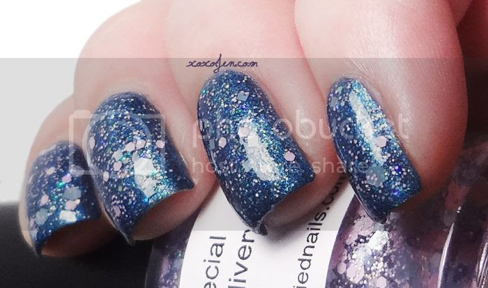 xoxoJen's swatch of Special Delivery from Glitterfied Nails