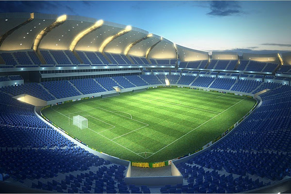 Maquete física da Arena ficará exposta em um shopping de Natal