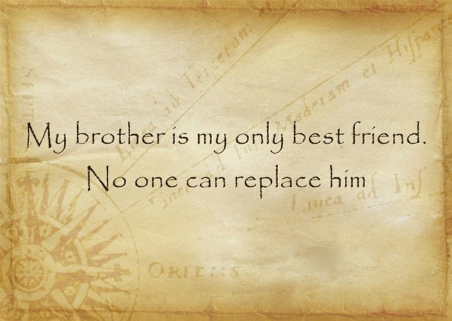 The Greatest Brother Quotes And Sibling Sayings