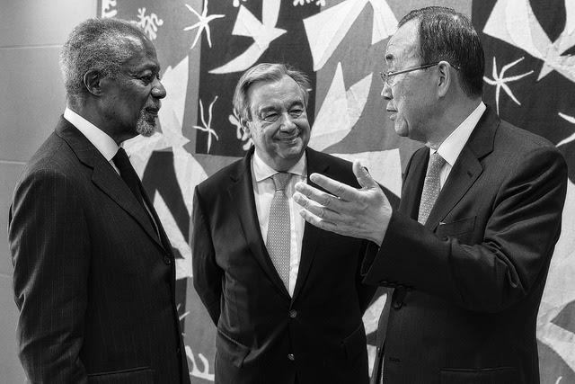 Resultado de imagen de La cobardía y la inutilidad de la ONU ha perpetuado el sufrimiento de un pueblo sujeto a sus derechos.