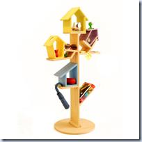 Bird Perch Bookshelf