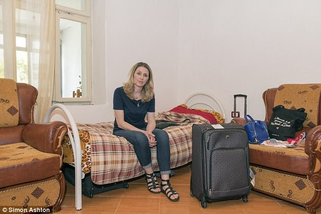 Apart from the emotional trauma of leaving her children behind she has also left a comfortable life of a middle class American. Her new home has no running water, the toilet is a hole in the ground in an outbuilding and there are frequent power outages