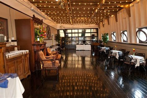 Indoor & outdoor space on Skansonia, a retired Washington