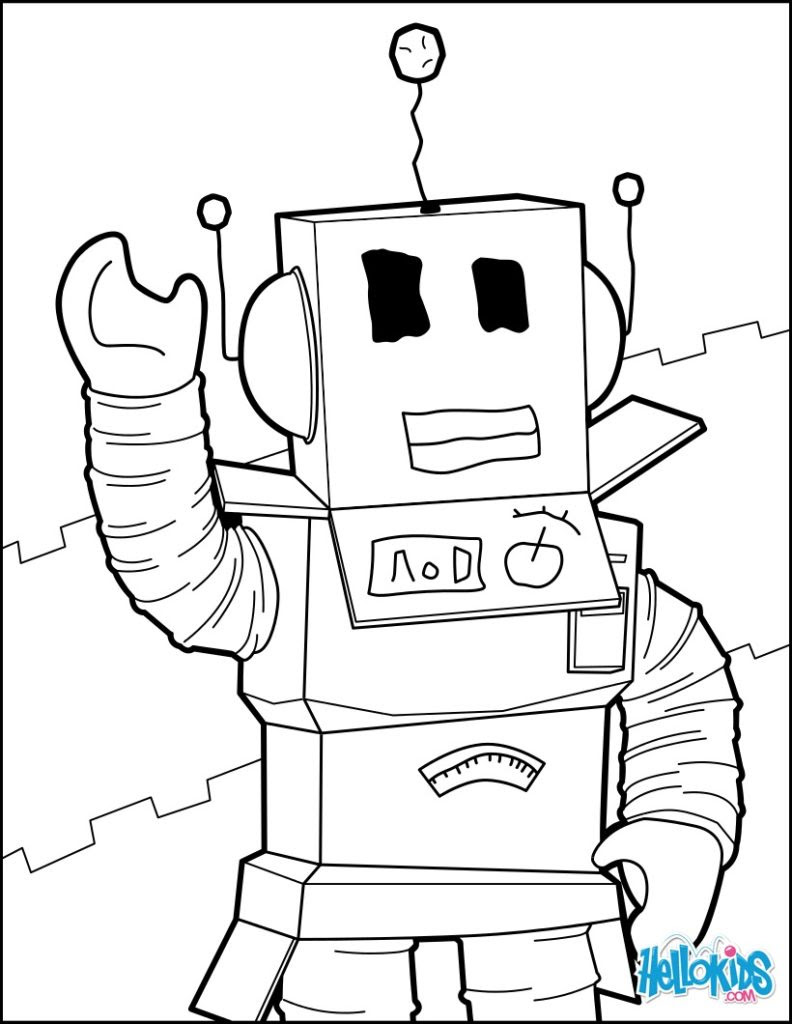 Coloring Pages Roblox at GetColorings.com | Free printable ...