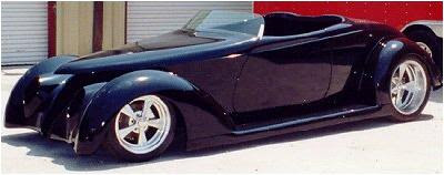 American Street Rod '37 Ford Roadster