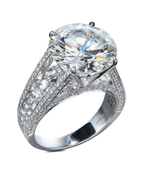 7 Carat Diamond Engagement Ring   Turgeon Raine