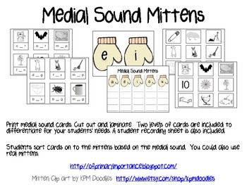 Medial Sound Mitten Sort