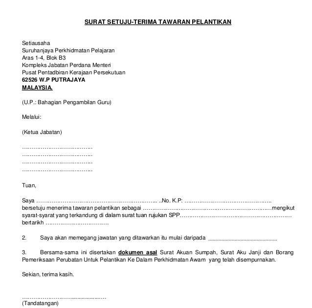 Surat Rasmi Tawaran Kerja Kontrak Viral Blog O