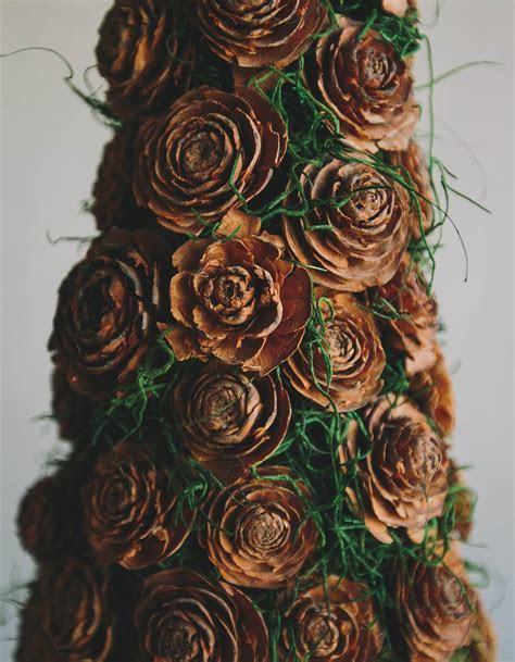 "10 Cedar Wood Roses Floral Picks 16"""
