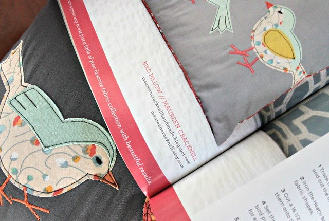 Bird Pillow in Simply Handmade Sewing